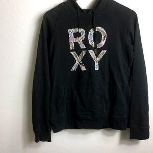 Roxy Black Hoodie Large